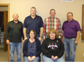 Thank you to USD 444 Board Members