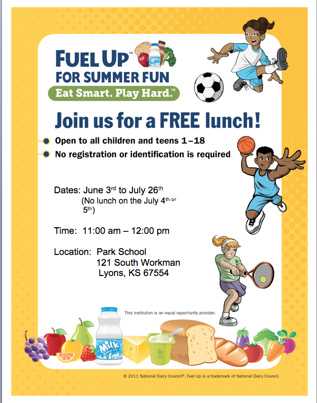FUEL UP FOR SUMMER FUN PROGRAM