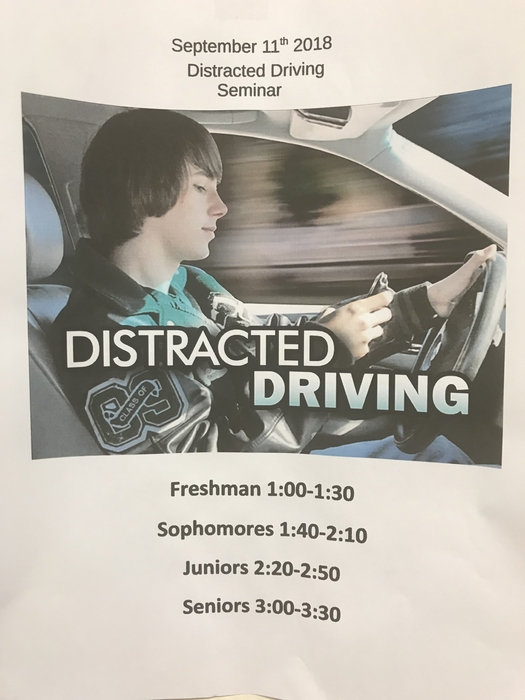 Distracted drivinf