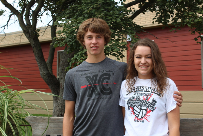 Sophomore Class Representatives: Jayden & Bailey