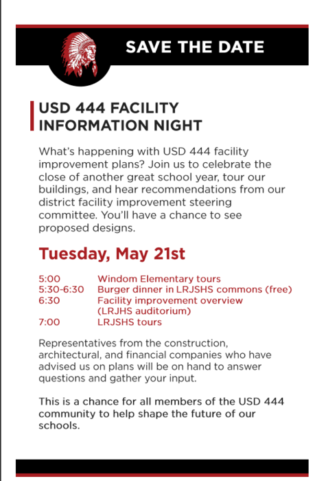 USD 444 Facility Information Night