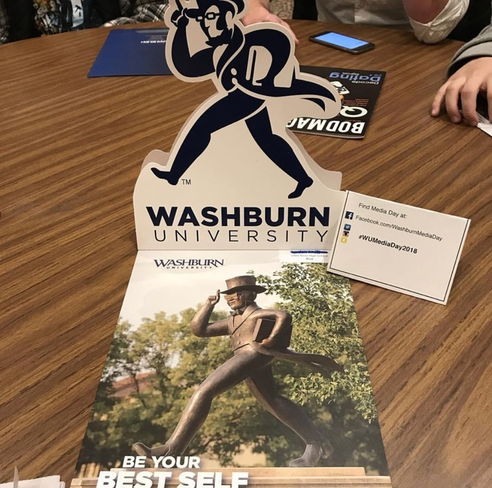 Mass Media Day at Washburn University